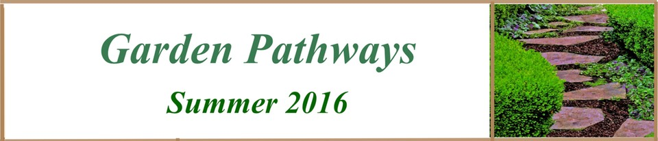 Garden Pathwasy Summer 2016