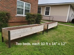 Available raised beds