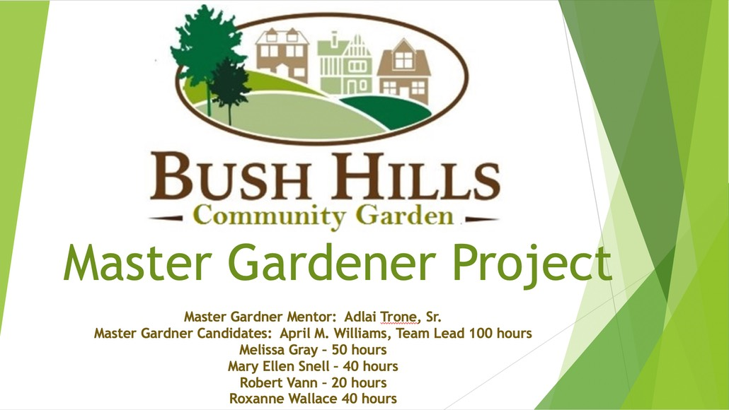 Bush Hills Community Garden project
